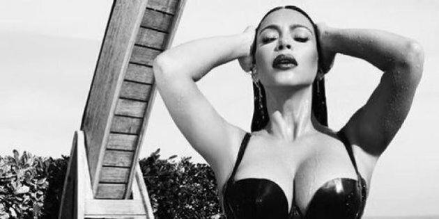 Kim Kardashian révèle la dominatrice qui est en elle pour un shooting