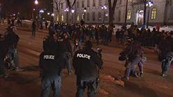 Manifestation nocturne contre l'austérité interdite aux hommes à