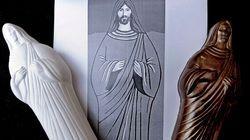 Des figurines de Jésus, Moïse ou Bouddah en chocolat,
