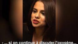 Selena Gomez, coincée dans un ascenseur, filme son