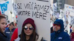 Marche des femmes contre