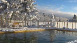 Yukon : Des sources chaudes pour produire de