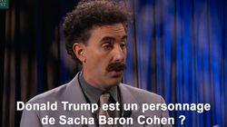 Borat s'en prend à Trump