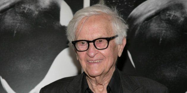Filmmaker Albert Maysles attends a screening