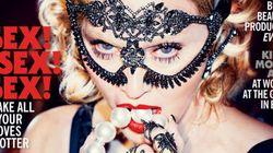 Madonna, sexy en couverture du Cosmopolitan
