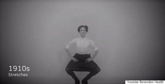 L'exercice physique a bien changé en un siècle