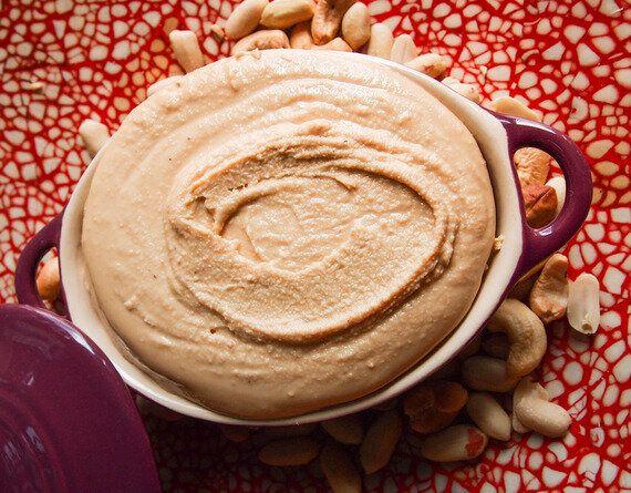 Beurre d'arachides et noix