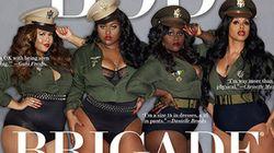 En une du magazine Ebony: l'époustouflante brigade du
