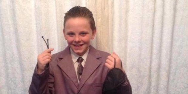 Un élève renvoyé de l'école pour s'être déguisé en personnage de «Cinquante nuances de Grey»