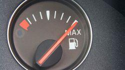 Baisse moyenne de 16% du prix de l'essence en
