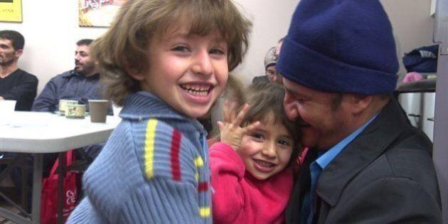 Des réfugiés syriens assistent à un cours «Canada 101» à