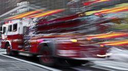 Deux pompiers de Laval