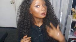 Elle utilise un tuto maquillage pour faire passer un joli message