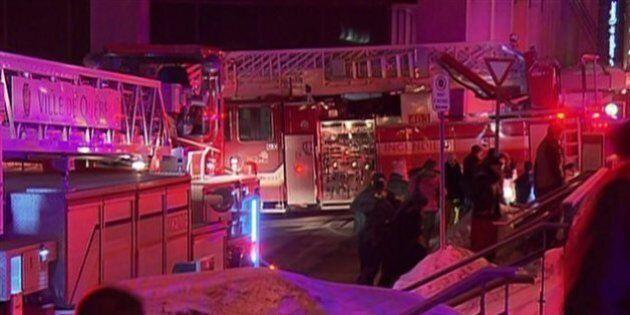Un incendie force l'évacuation du Delta
