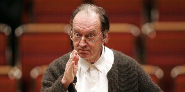 (GERMANY OUT) Harnoncourt, Nikolaus *06.12.1929-Cellist, Dirigent, Oesterreich- leitet das Orchester...