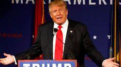 Donald Trump reporte son voyage en