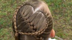 Cette mère a tout un talent en coiffure