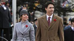 Justin Trudeau et Sophie Grégoire-Trudeau posent pour Vogue