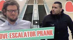 Ce canular dans un escalier roulant a fait le tour du monde
