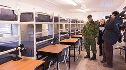 La base militaire de Valcartier est prête à recevoir des réfugiés syriens