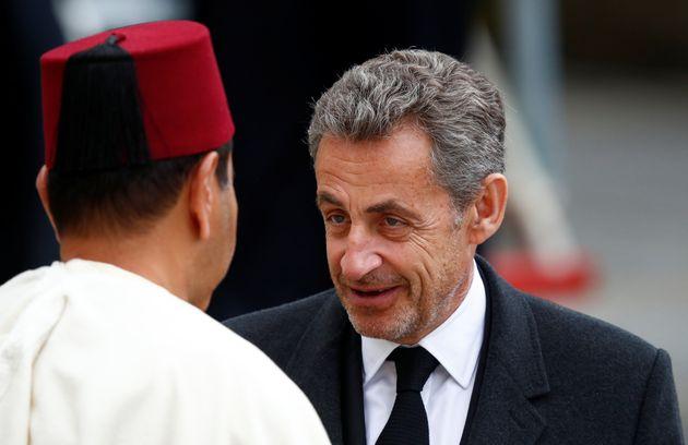 Le prince Moylay Rachid et l'ancien président de la République française, Nicolas