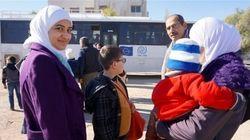 En Jordanie, avec les réfugiés avant