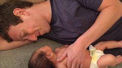Mark Zuckerberg publie une nouvelle photo de sa petite