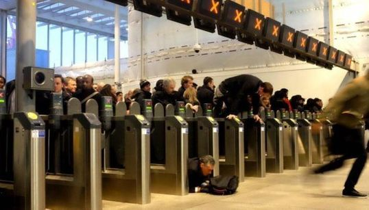 L'incroyable congestion du métro de Londres en