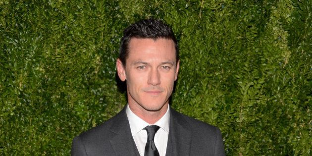 Luke Evans attends the 11th Annual CFDA/Vogue Fashion Fund Dinner event at Spring Studios on Monday,...