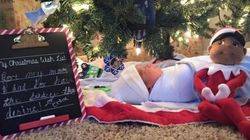 Ces fillettes ont trouvé le plus beau des cadeaux au pied du sapin