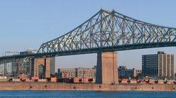 Travaux sur le pont Jacques-Cartier tout le