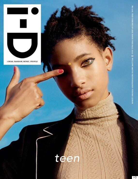 Willow Smith en couverture du i-D magazine