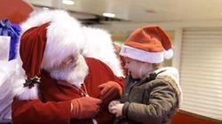 La magie de Noël pour une petite fille malentendante