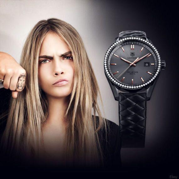 Cara Delevingne vend sa montre personnelle sur Ebay pour venir en aide à la