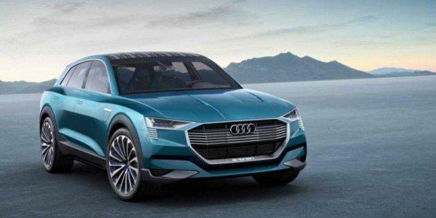 Audi E-Tron Quattro Concept : voici enfin le VUS électrique