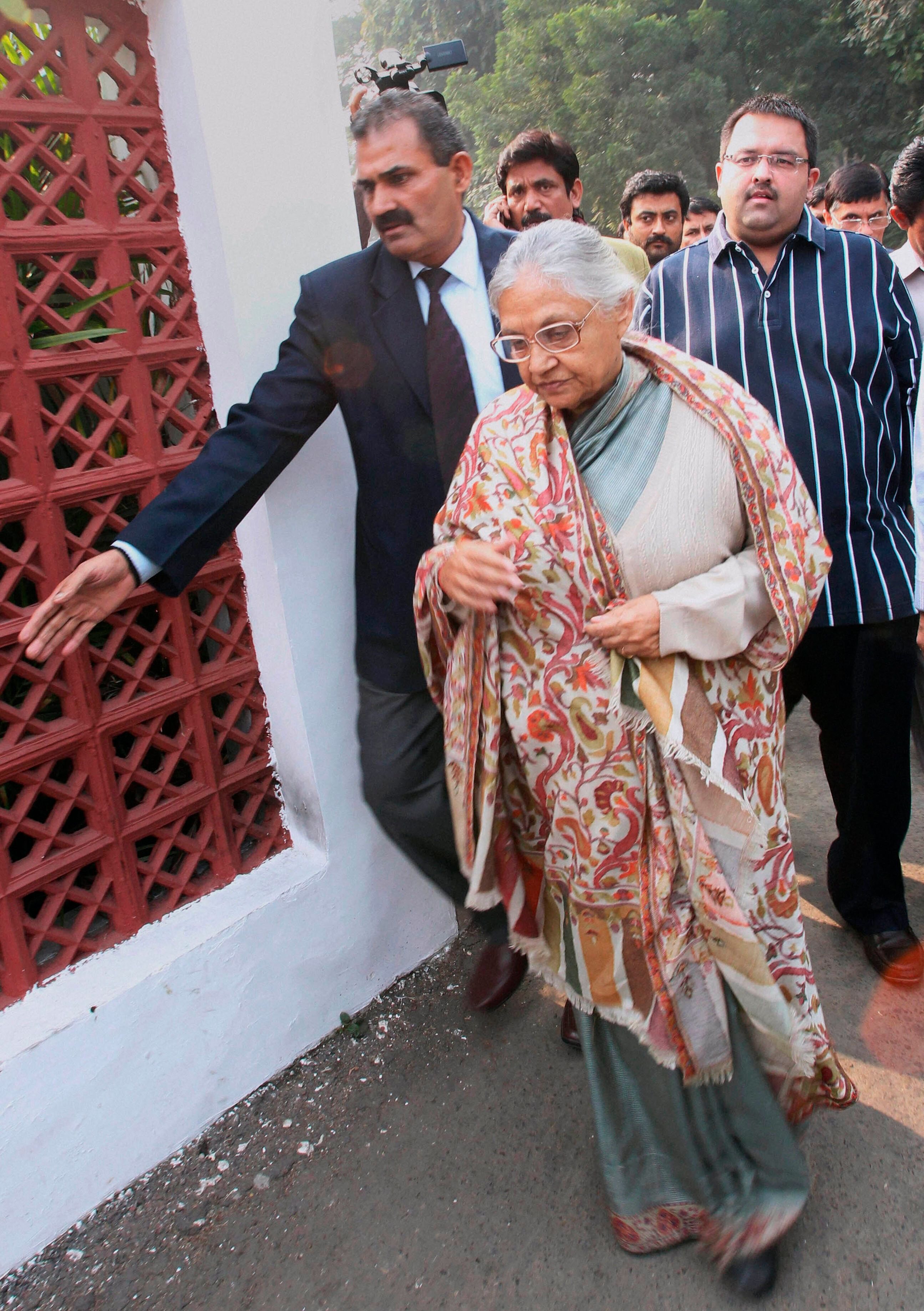 Sheila Dikshit Made An Absurd Comment On The 2012 Delhi