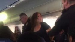 Une femme violente force l'atterrissage d'un avion avant sa