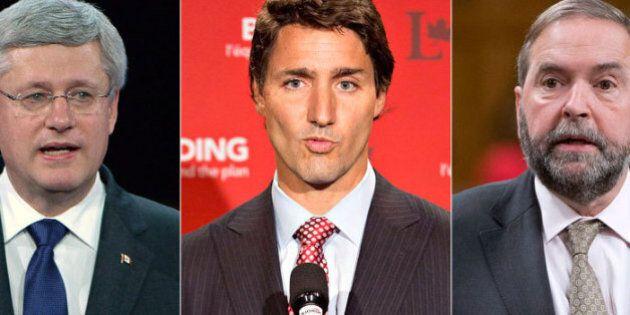 Justin Trudeau et Thomas Mulcair participeront au débat Munk, même s'il n'est pas tout à fait
