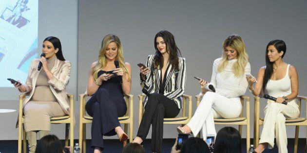 NEW YORK, NY - SEPTEMBER 14: (EXCLUSIVE COVERAGE)Apple Store Soho Presents Meet The Developers: Kim Kardashian,...