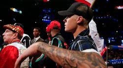 Justin Bieber éjecté du ring après le dernier combat de Floyd Mayweather Jr