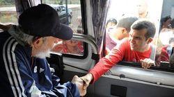 Première apparition publique de Fidel Castro depuis 14