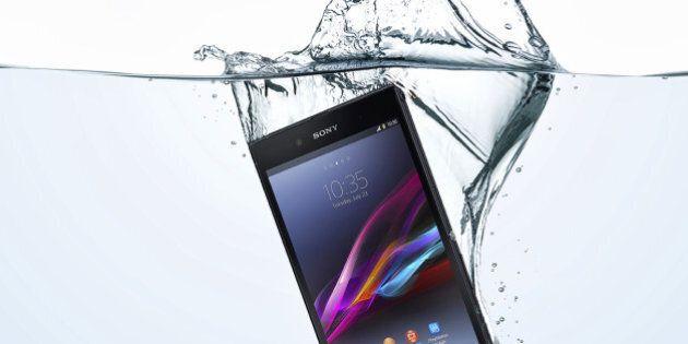 Sony Xperia Z5: l'entreprise déconseille de plonger ses téléphones étanches... sous