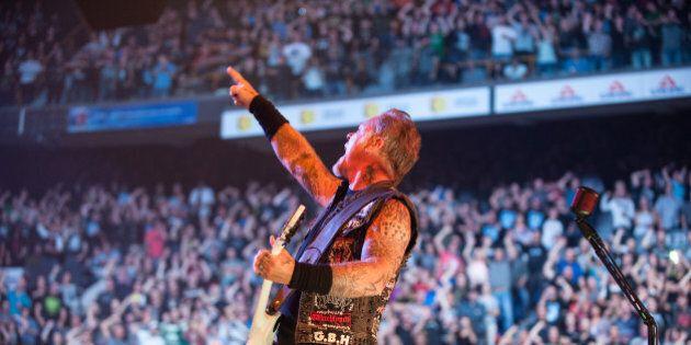 Voyez toutes les PHOTOS de Metallica au Colisée de