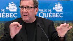 Régis Labeaume n'a vraiment pas aimé les questions d'Alain Gravel