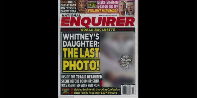 Les photos de Bobbi Kristina Brown dans National Enquirer sur son lit de mort choquent plusieurs