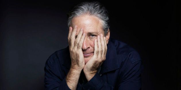 In this Nov. 7, 2014 photo, Jon Stewart poses for a portrait in promotion of his
