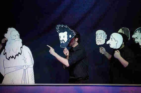 «Louis Riel»: entre théâtre et bande