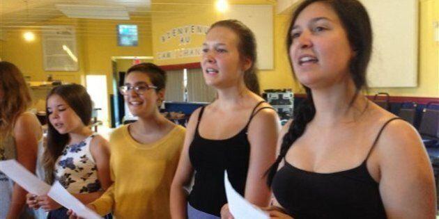 Petite-Vallée: le seul camp de vacances dédié à la chanson célèbre ses 15