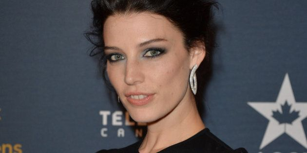 TORONTO, ON - MARCH 09: Actress Jessica Pare arrives at the Canadian Screen Awards at Sony Centre for...