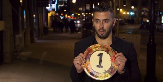 Julien Bernatchez marque l'histoire d'«Un souper presque parfait» en obtenant la pire note jamais